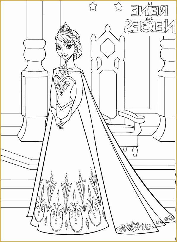 Coloriage De La Reine Des Neiges A Imprimer Gratuit Autre pour Jeux De Reine Des Neige Gratuit