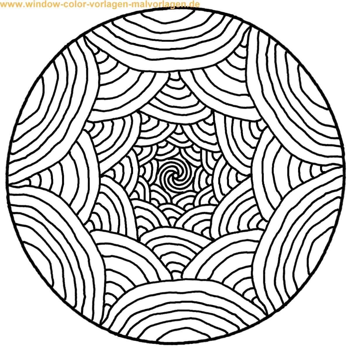 Coloriage De Mandala Facile 10 | Ibukijima | Pinterest serapportantà Coloriage Facile À Imprimer
