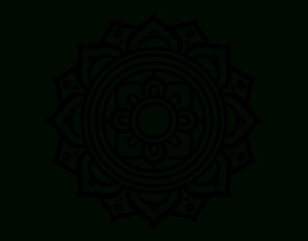 Coloriage De Mandala Mosaïque Grecque Pour Colorier serapportantà Dessin Mosaique A Imprimer