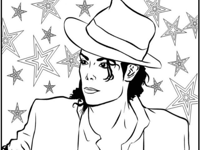 Coloriage De Michael Jackson 23 Best Michael Jackson pour Coloriage De Michael Jackson