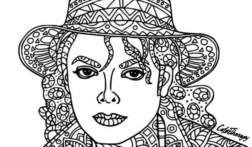 Coloriage De Michael Jackson Michael Jackson Coloring tout Coloriage De Michael Jackson
