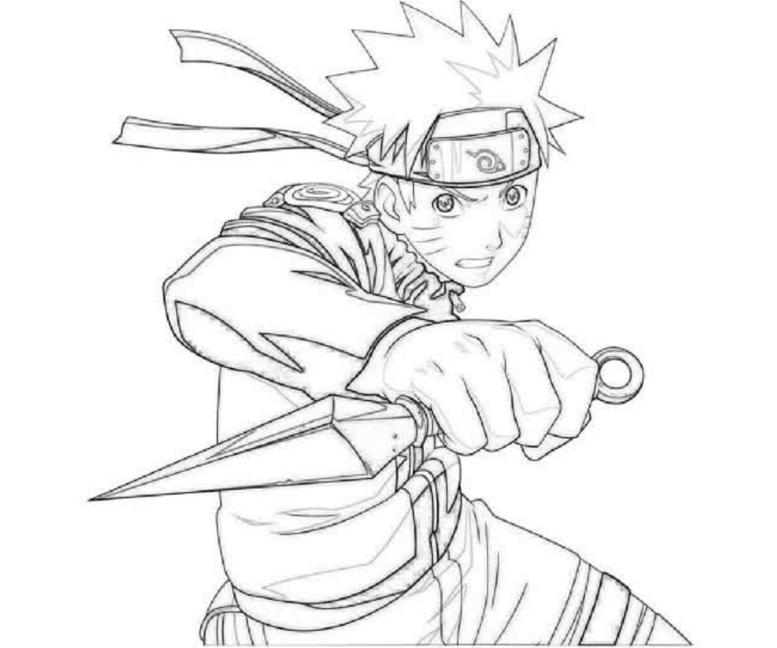 Coloriage De Naruto Shippuden A Imprimer Coloriage De concernant Naruto Shipuden Coloriage