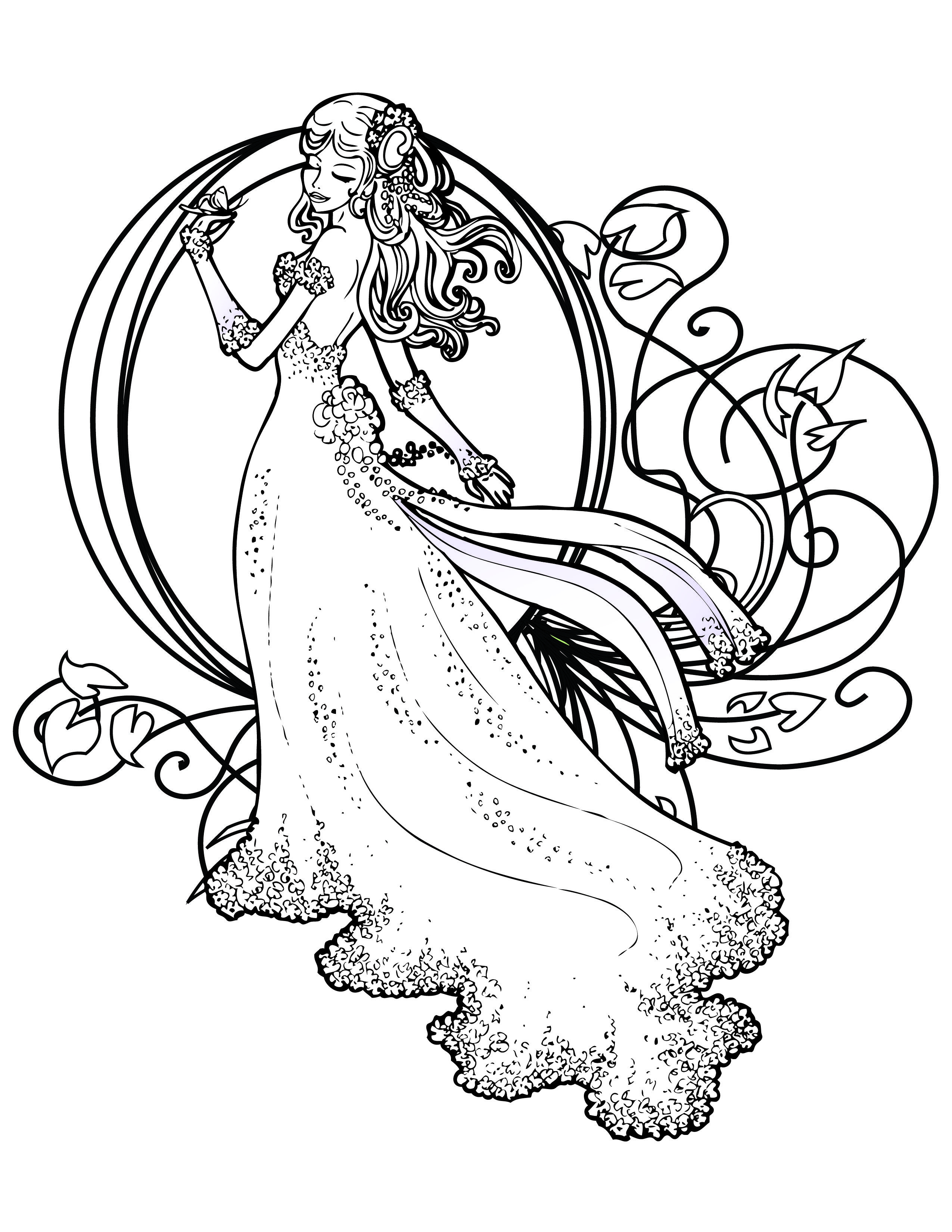 Coloriage De Princesse Disney Gratuit À Imprimer tout Coloriage A Imprimer Gratuit