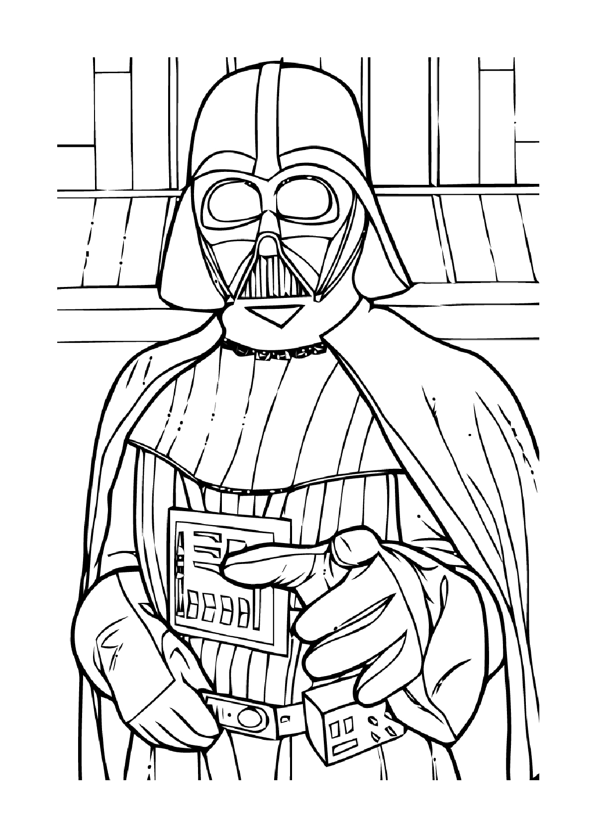 Coloriage De Star Wars 1 2 3 4 5 6 encequiconcerne Coloriage Star Wars A Imprimer