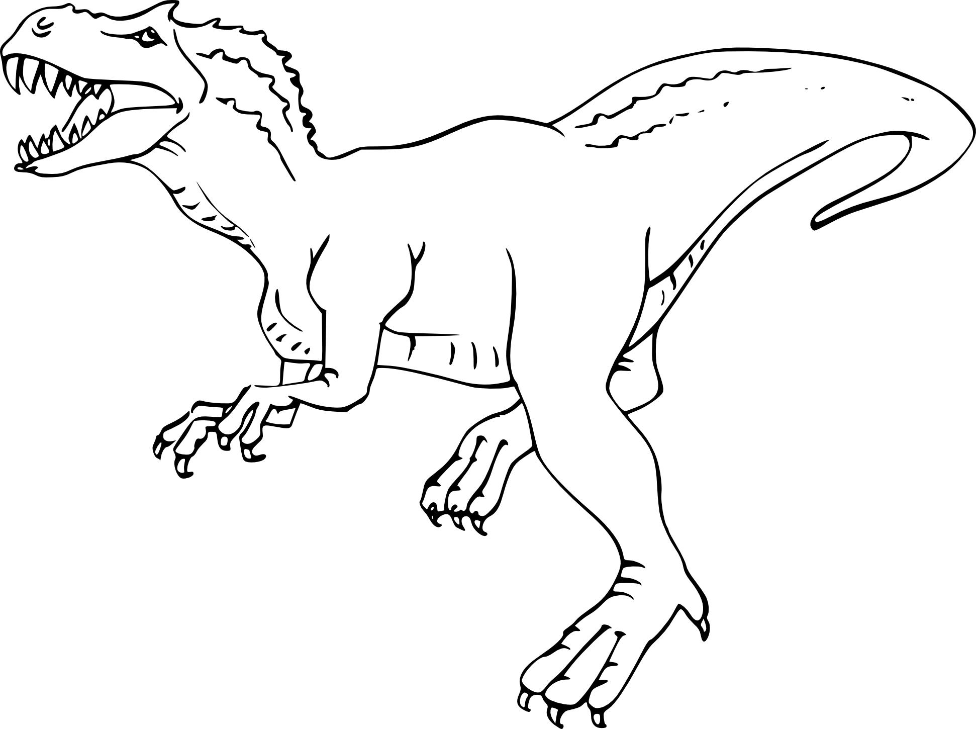 Coloriage De Tyrannosaure À Imprimer Sur Coloriage De pour Coloriage De Dinosaure Gratuit