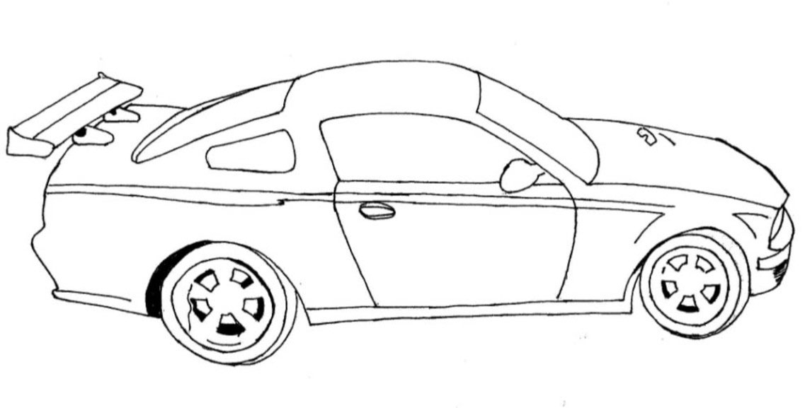 Coloriage De Voiture De Quick And Livid | Coloriage Kids intérieur Coloriage Voiture Fast And Furious