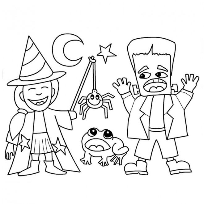 Coloriage Dessin Halloween En Ligne Dessin Gratuit À Imprimer encequiconcerne Dessin A Colorier Halloween Gratuit