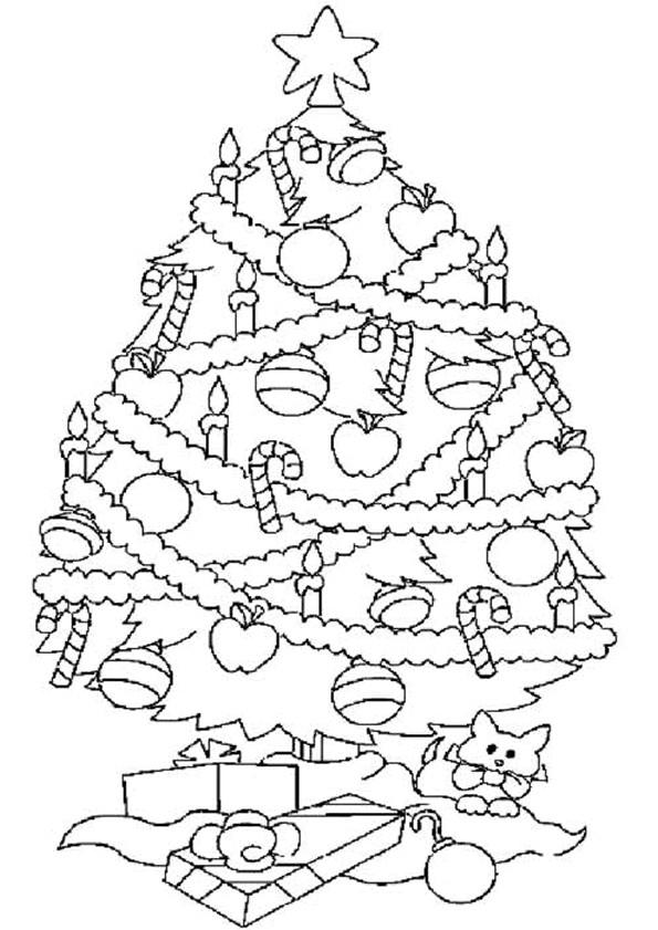 Coloriage Dessin Sapin De Noël Dessin Gratuit À Imprimer pour Dessin De Noel A Imprimer Gratuit