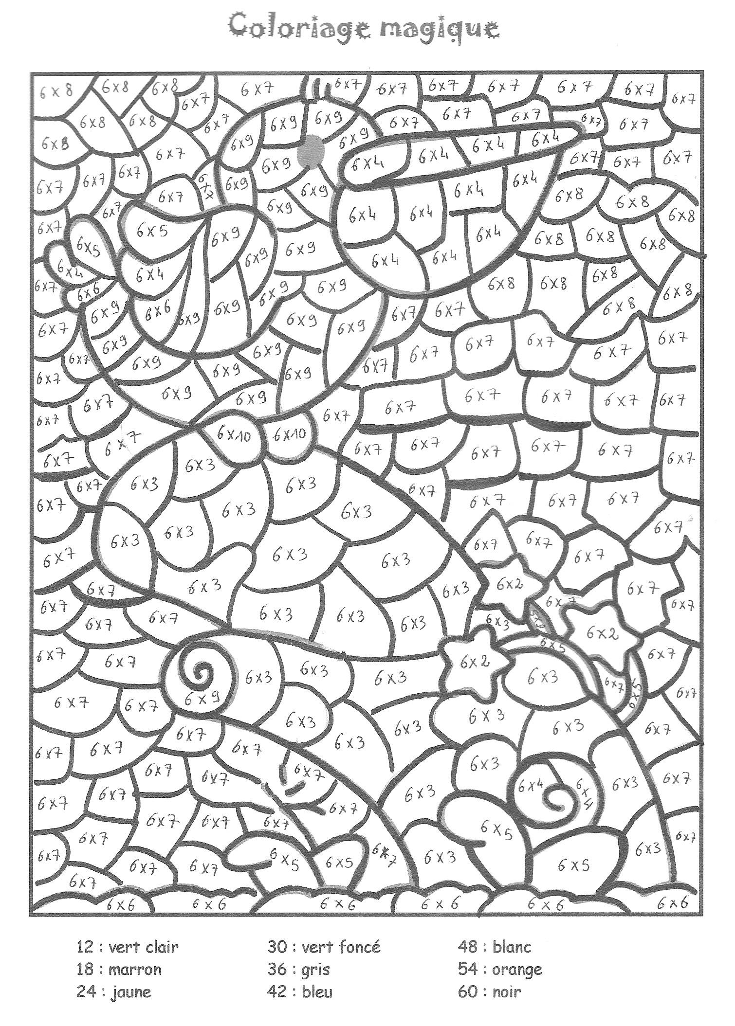 Coloriage Dessiner Magique Gs En Ligne Avec Coloriage avec Coloriage Magique Addition Maternelle