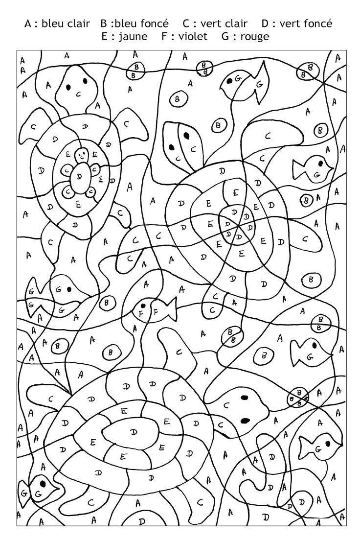 Coloriage Dessiner Magique Gs En Ligne Avec Coloriage pour Coloriage Numéroté Maternelle