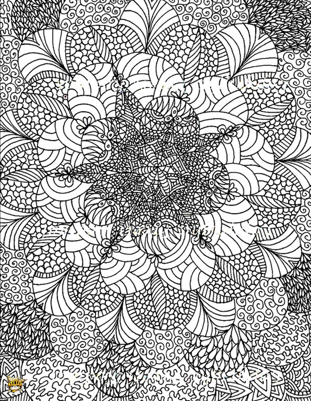Coloriage Destressant Inspirant Image Coloriage Anti destiné Coloriage Destressant