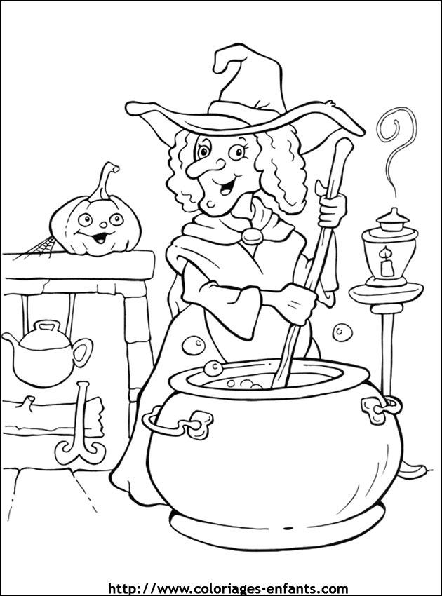 Coloriage D'Halloween Sur L'Ordinateur serapportantà Dessin A Colorier Halloween Gratuit