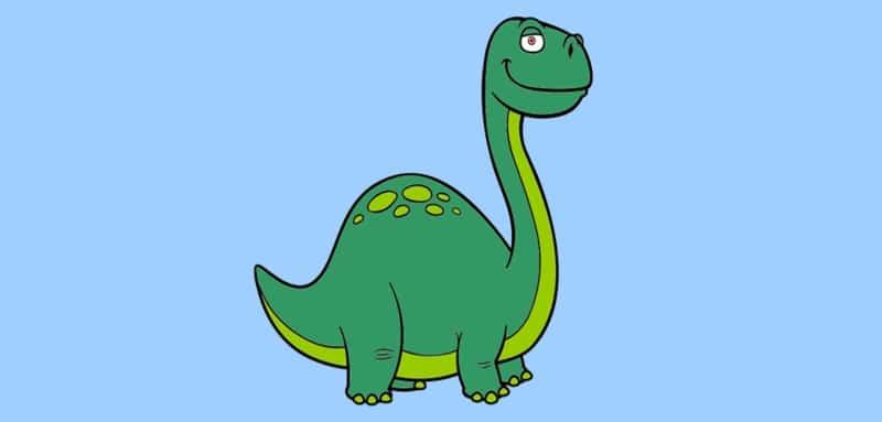Coloriage Dinosaure : 20 Dessins À Imprimer dedans Comment Dessiner Un Dinosaure