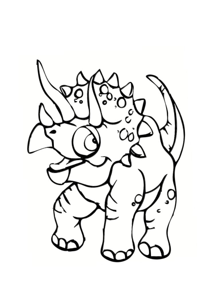 Coloriage Dinosaure : 20 Dessins À Imprimer pour Coloriage Dinosaure À Imprimer Gratuit