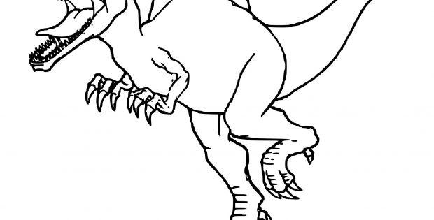 Coloriage Dinosaure Tyrannosaure Inspirant Galerie Beau tout Coloriage Dinosaure Tyrannosaure