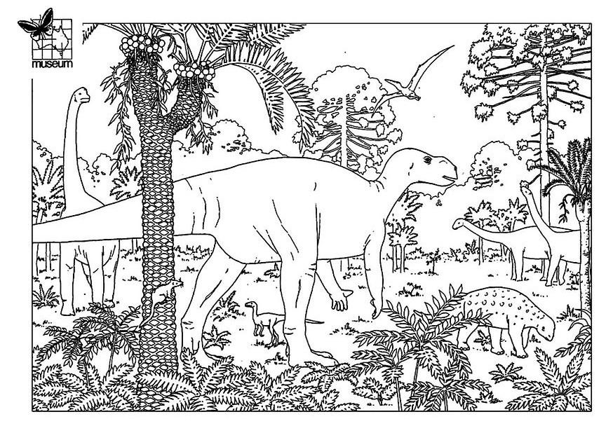 Coloriage Dinosaures - Coloriages De Dinosaures intérieur Dinausore Coloriage
