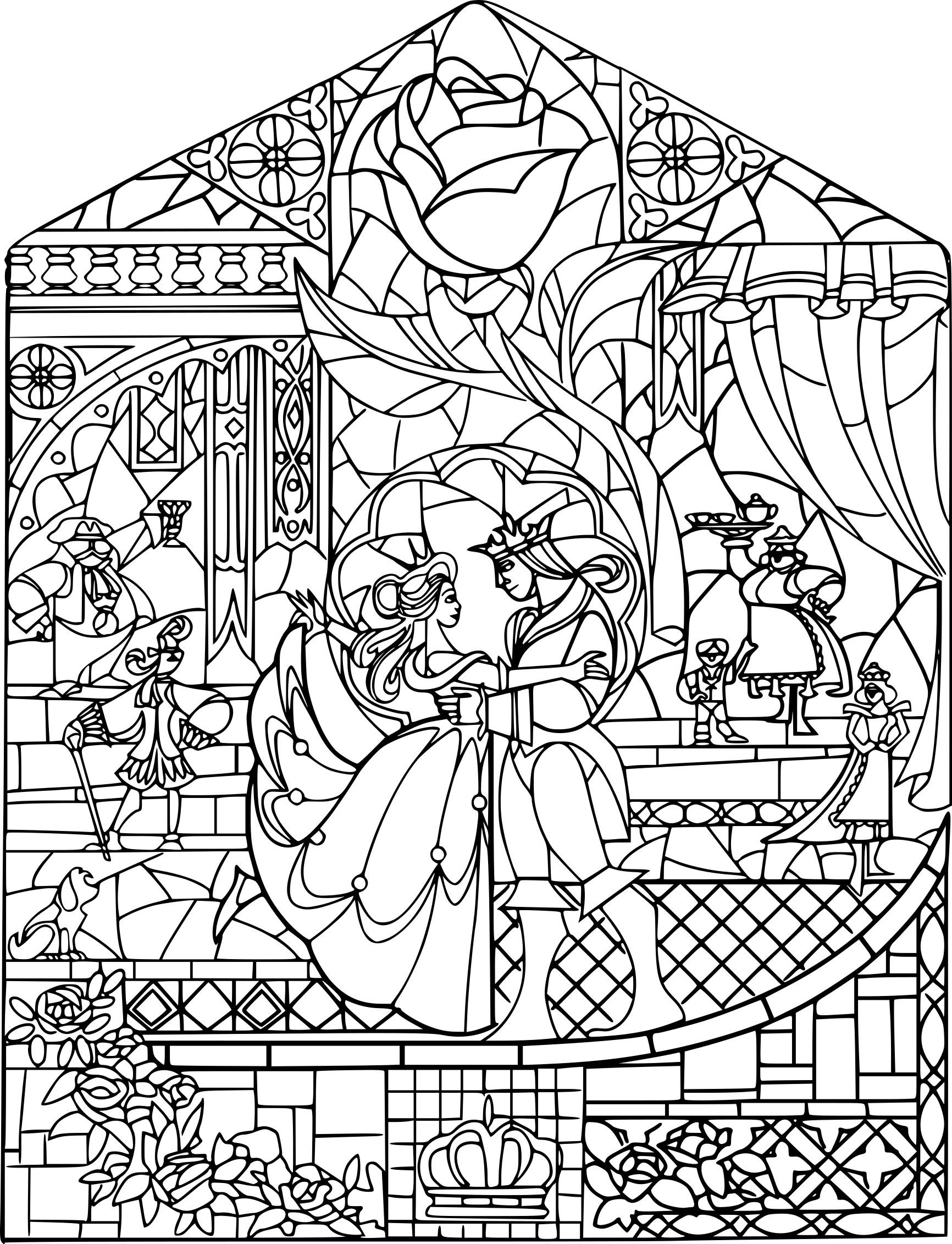 Coloriage Disney Adulte À Imprimer Sur Coloriages pour Coloriage Disney