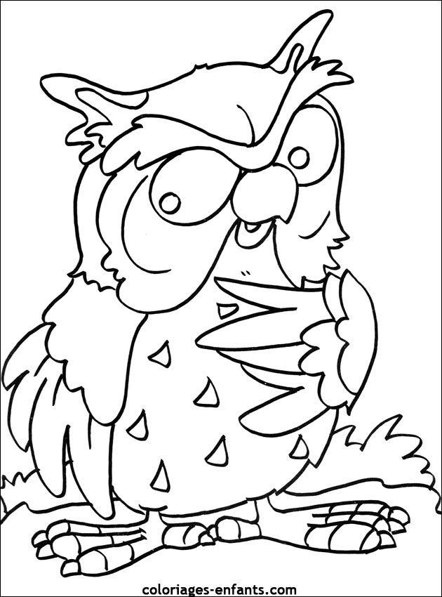Coloriage D'Oiseaux - Dessin À Colorier D'Animaux avec Coloriage Oiseaux A Imprimer