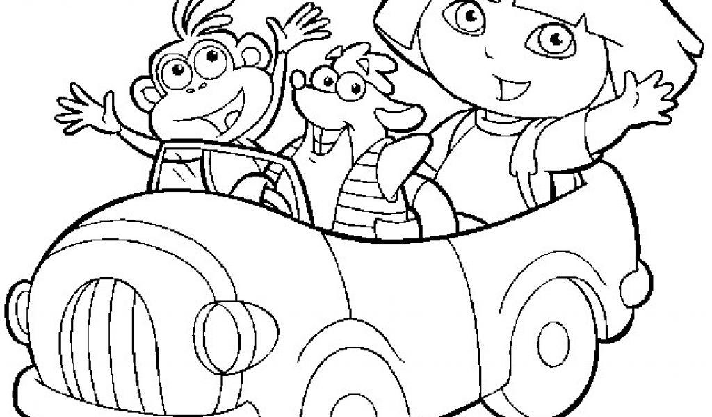 Coloriage Dora A Imprimer Gratuit 19 Dessins De Coloriage à Jeu De Dora Gratuit