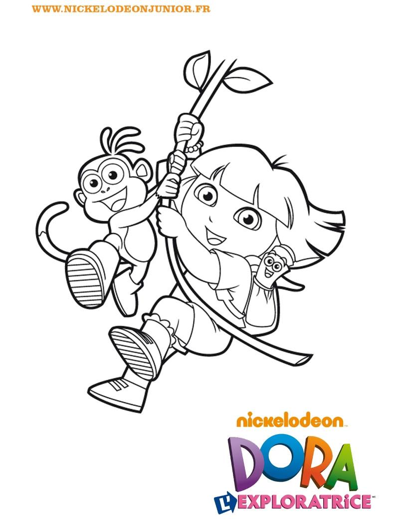 Coloriage Dora And Friends destiné Coloriage De Dora En Ligne