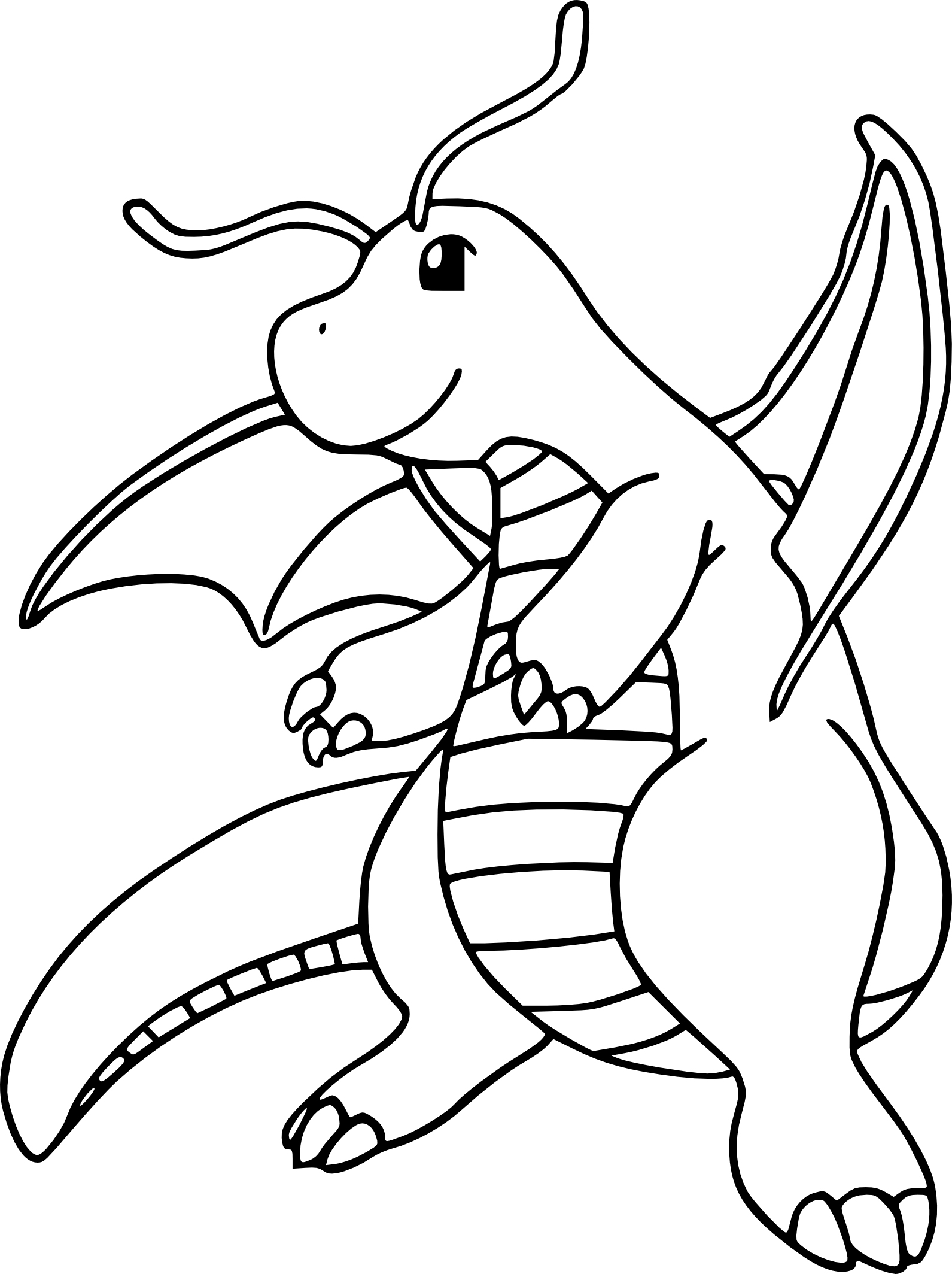 Coloriage Dracolosse Pokemon À Imprimer pour Coloriag Pokemon