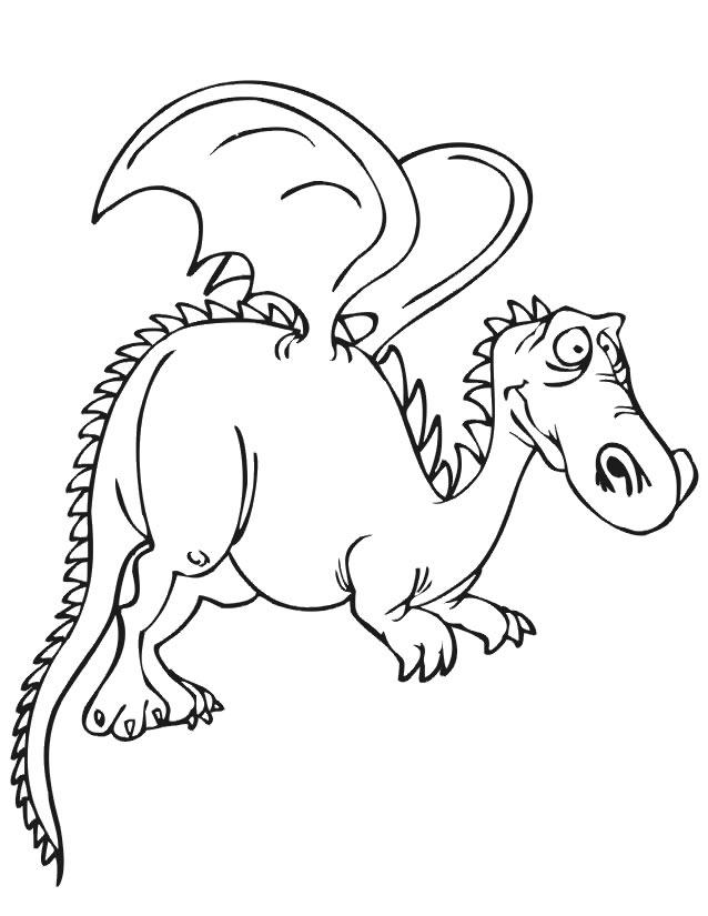 Coloriage Dragon À Imprimer Gratuitement tout Coloriage Dragon