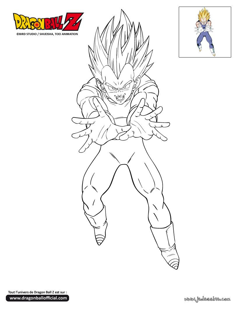 Coloriage Dragon Ball Z | Coloriage Dragon Ball, Coloriage intérieur Coloriage Dragon Ball Z Sangoku