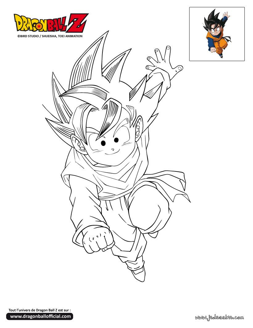 Coloriage Dragon Ball Z | Coloriage Dragon Ball Z, Coloriage pour Coloriage Dragon Ball Z Super