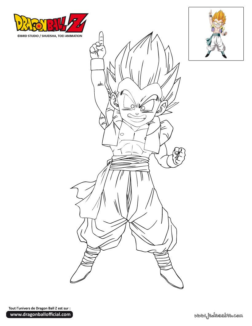 Coloriage Dragon Ball Z | Dessin Animé | Pinterest intérieur Coloriage Dragon Ball Z Super