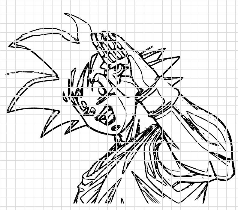 Coloriage Dragon Ball Z, Dessin Sangoku À Imprimer Et Colorier tout Coloriage Dragon Ball Z Sangoku