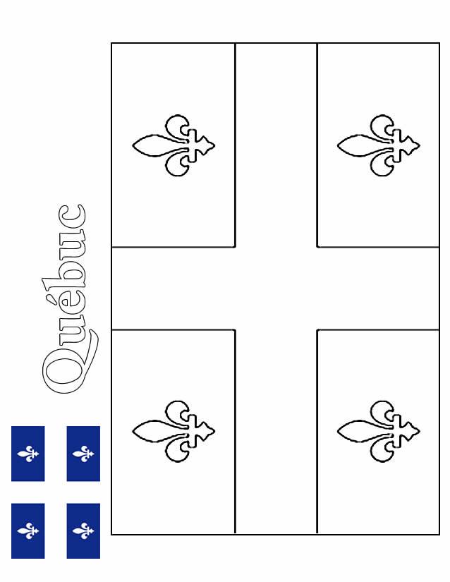 Coloriage Drapeau Bresil Imprimer tout Drapeau Du Canada A Colorier