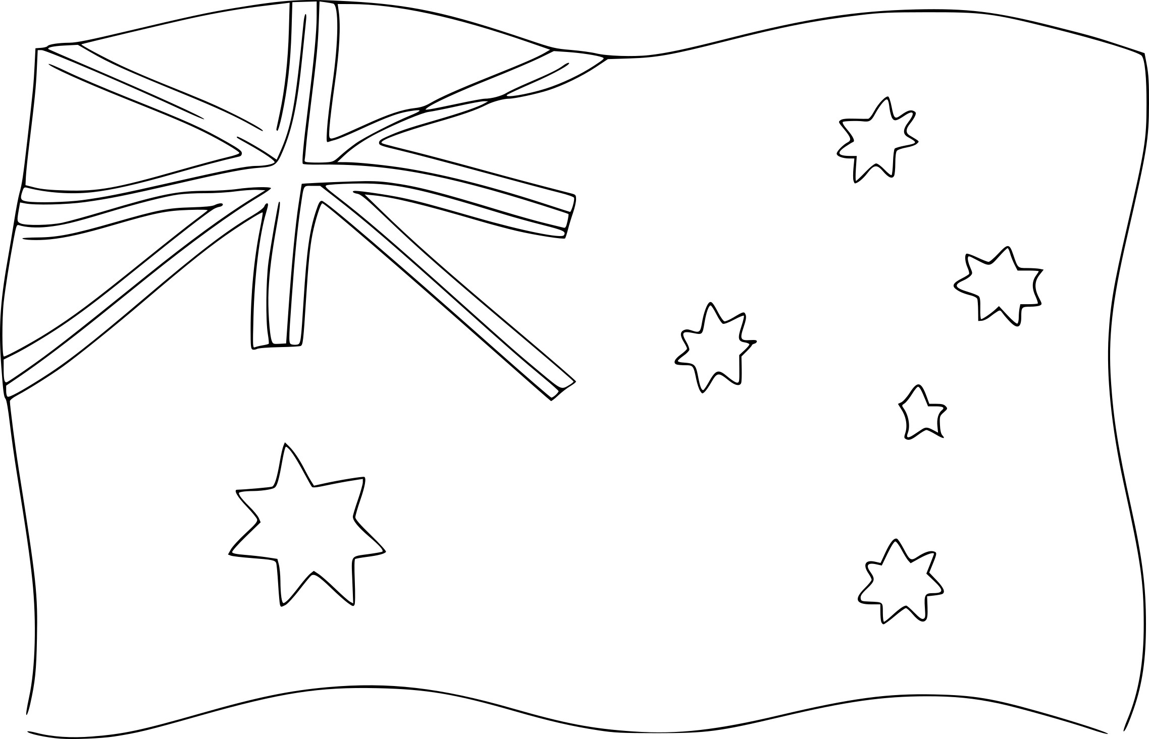 Coloriage Drapeau D'Australie À Imprimer Sur Coloriages concernant Drapeau A Imprimer