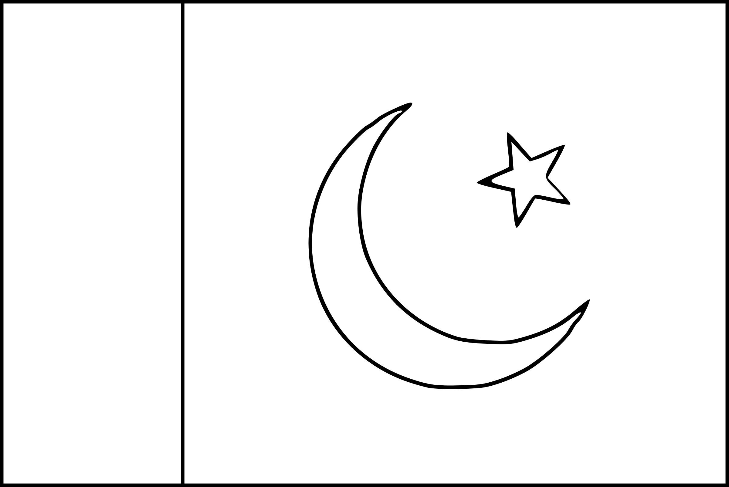Coloriage Drapeau Pakistan À Imprimer encequiconcerne Drapeau A Imprimer