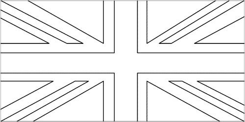 Coloriage Drapeau Royaume Uni Image Drapeau Anglais avec Coloriage Drapeau Anglais