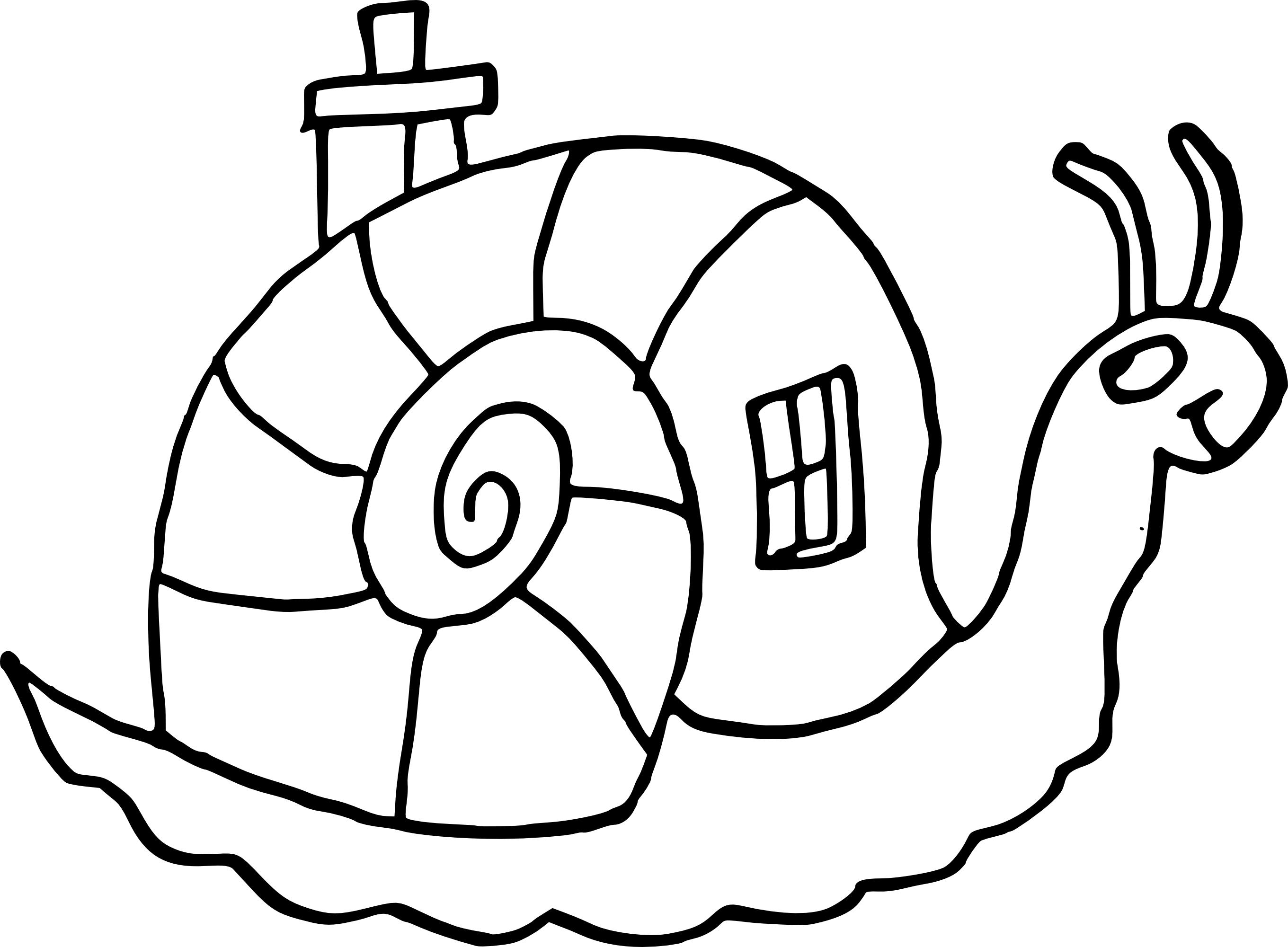 Coloriage Escargot A Imprimer Gratuit | My Blog dedans Coloriage A Imprimer Gratuits