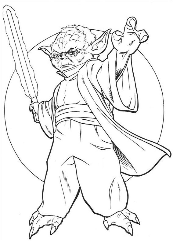Coloriage Et Dessins De Star Wars + Coloriage Star Wars à Coloriage Star Wars