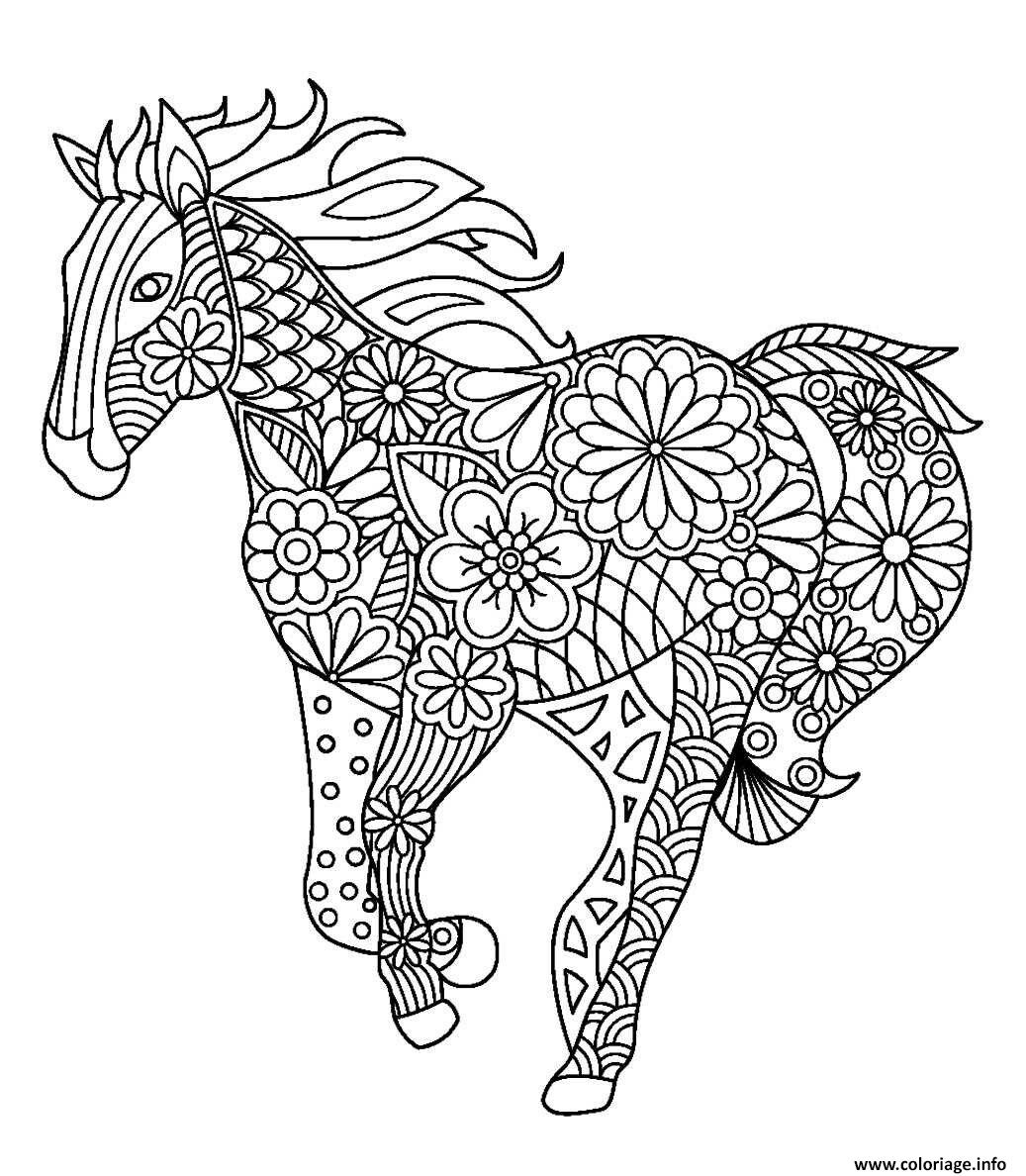 Coloriage Et Mandalas - Secourisme Equinsecourisme Equin encequiconcerne Coloriage Mandala A Imprimer