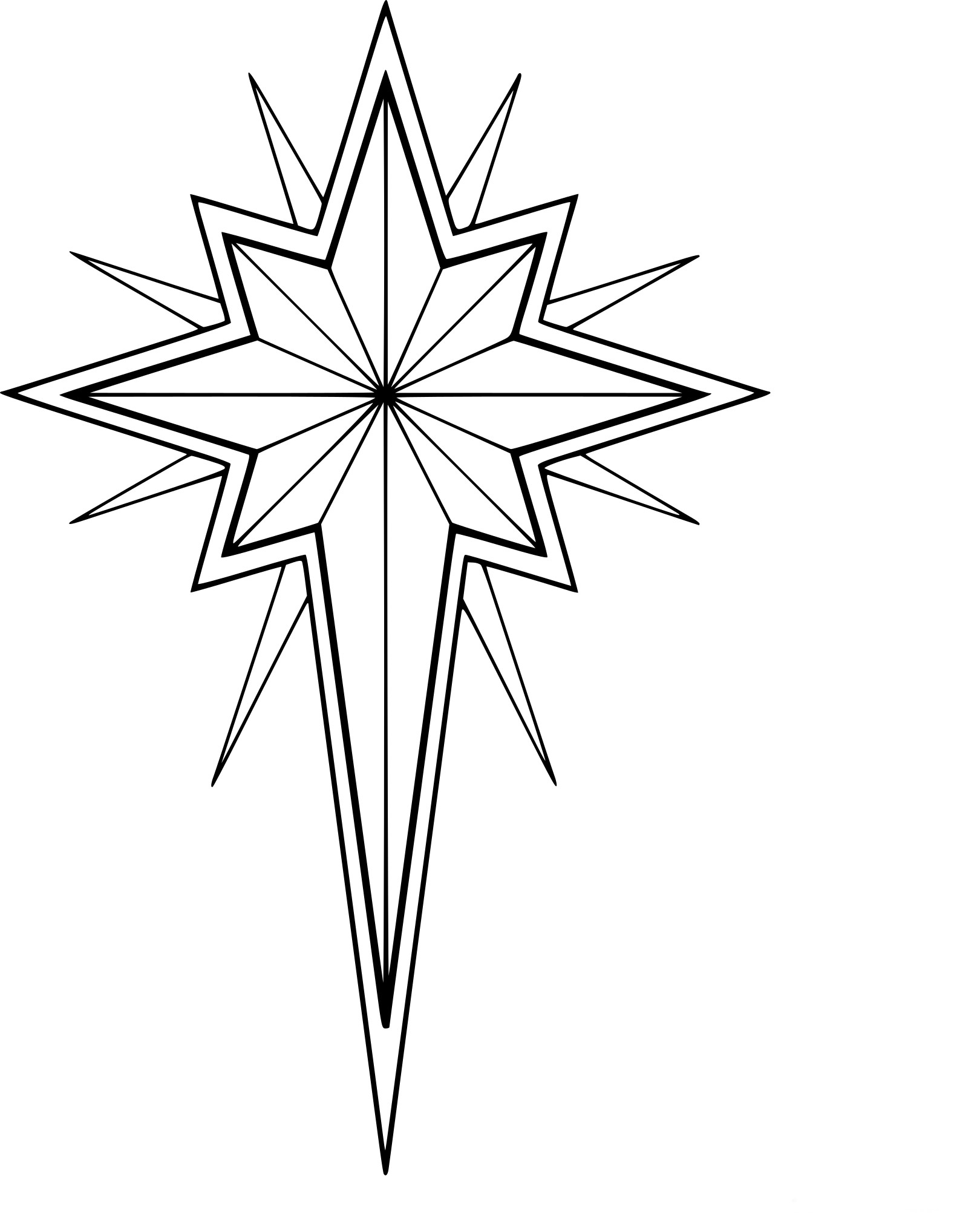 Coloriage Etoile De Noel À Imprimer Sur Coloriages destiné Coloriage Étoile Filante