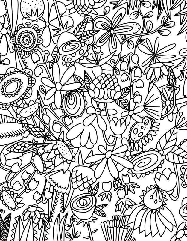 Coloriage Fleur : Découvrez Notre Joli Coloriage De Fleurs encequiconcerne Coloriage Fleur
