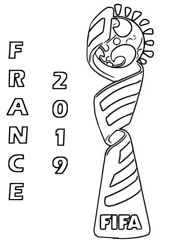 Coloriage Foot Coupe Du Monde dedans Coupe Du Monde Dessin