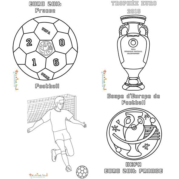 Coloriage Foot Et Trophées Dessin Gratuit À Imprimer intérieur Dessin A Imprimer De Foot