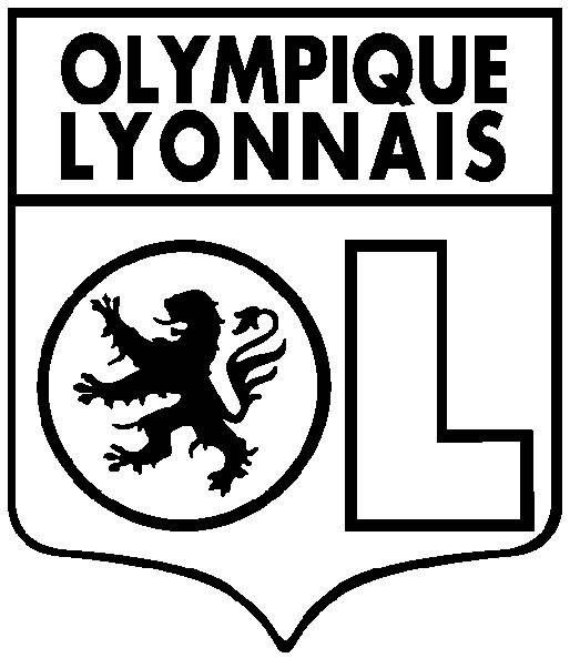 Coloriage Football Olympique Lyonnais Dessin Gratuit À dedans Coloriage Equipe De Foot