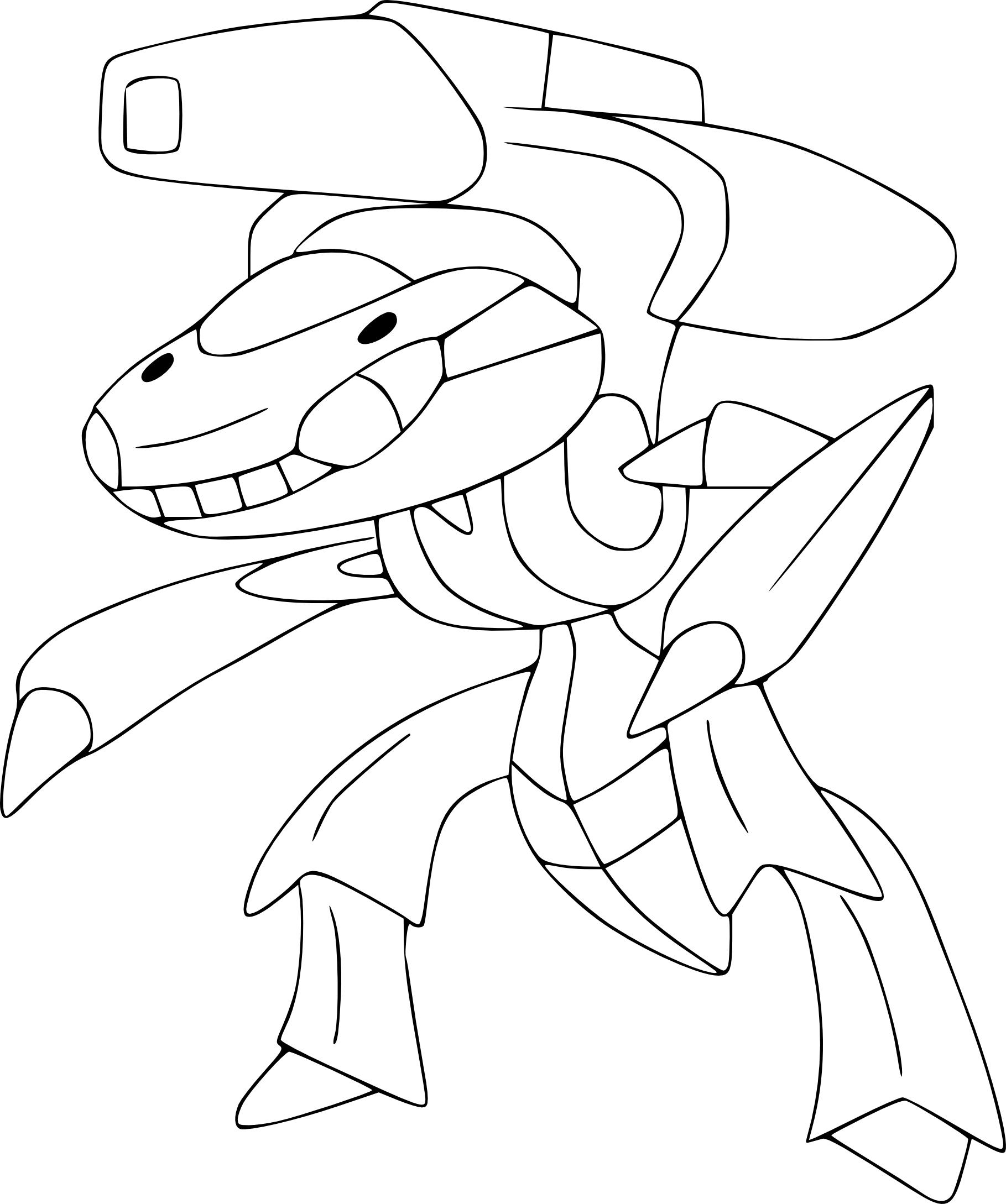 Coloriage Genesect Pokemon À Imprimer Sur Coloriages serapportantà Coloriage A Imprimer Pokemon Legendaire