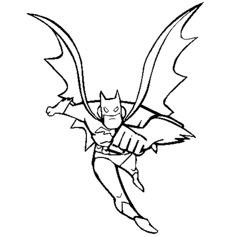 Coloriage Batman A Imprimer - GreatestColoringBook.com