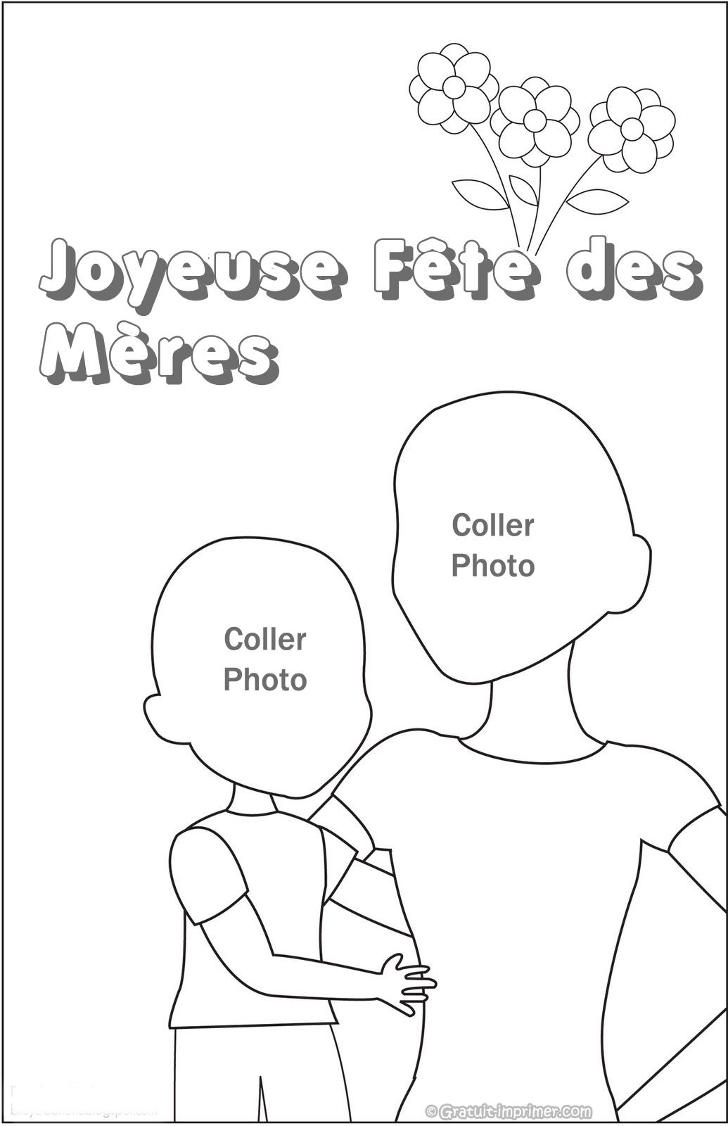 Coloriage Gratuit À Imprimer Pour La Fete Des Mere | 30000 intérieur Fete Des Meres Dessin