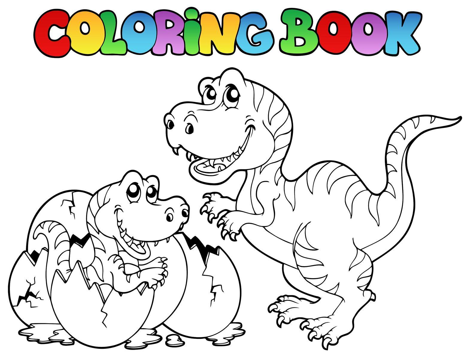 Coloriage Gratuit - Dino-Shop destiné Coloriage À Imprimer Enfant