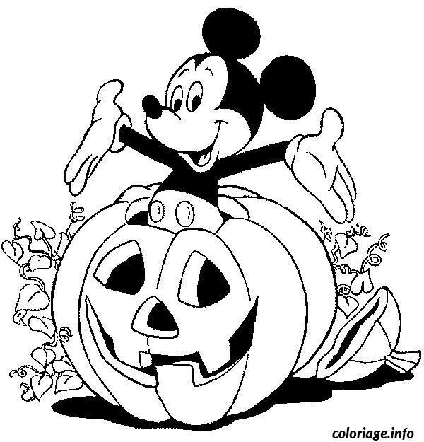 Coloriage Halloween Disney Dessin À Imprimer | Coloriage encequiconcerne Dessin A Colorier Halloween Gratuit
