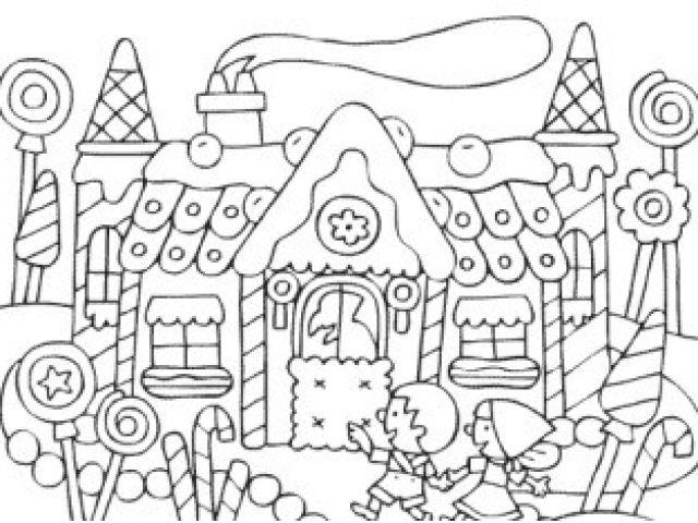 Coloriage Hansel Et Gretel En Ligne Coloriage Pour Adulte destiné Coloriage Hansel Et Gretel