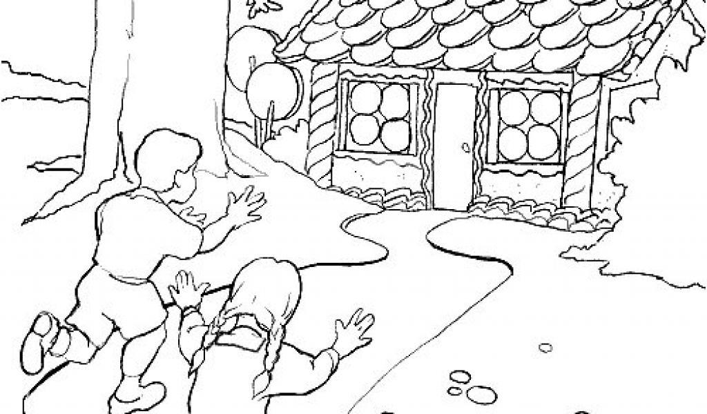 Coloriage Hansel Et Gretel Hansel Et Gretel Coloriages avec Coloriage Hansel Et Gretel