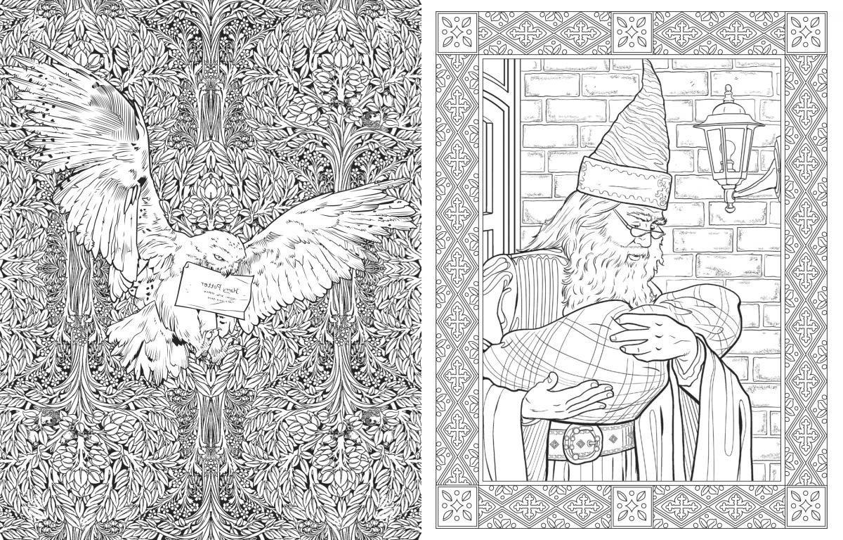 Coloriage Harry Potter Gryffondor Cool Photos Le Livre De intérieur Livre Coloriage Harry Potter